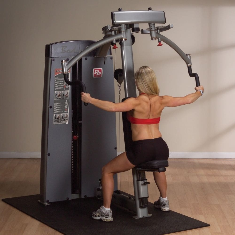 Body-Solid Pro Dual DPEC-SF Commercial Pec Fly and Rear Delt Machine Reverse Fly