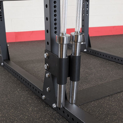Body-Solid SPR1000BACKP4 Extended Power Rack Gym Package Bar Holder