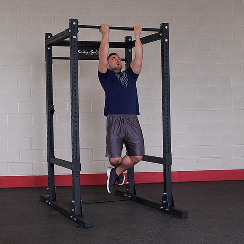 Body-Solid SPR1000BACKP4 Extended Power Rack Gym Package Pull Up