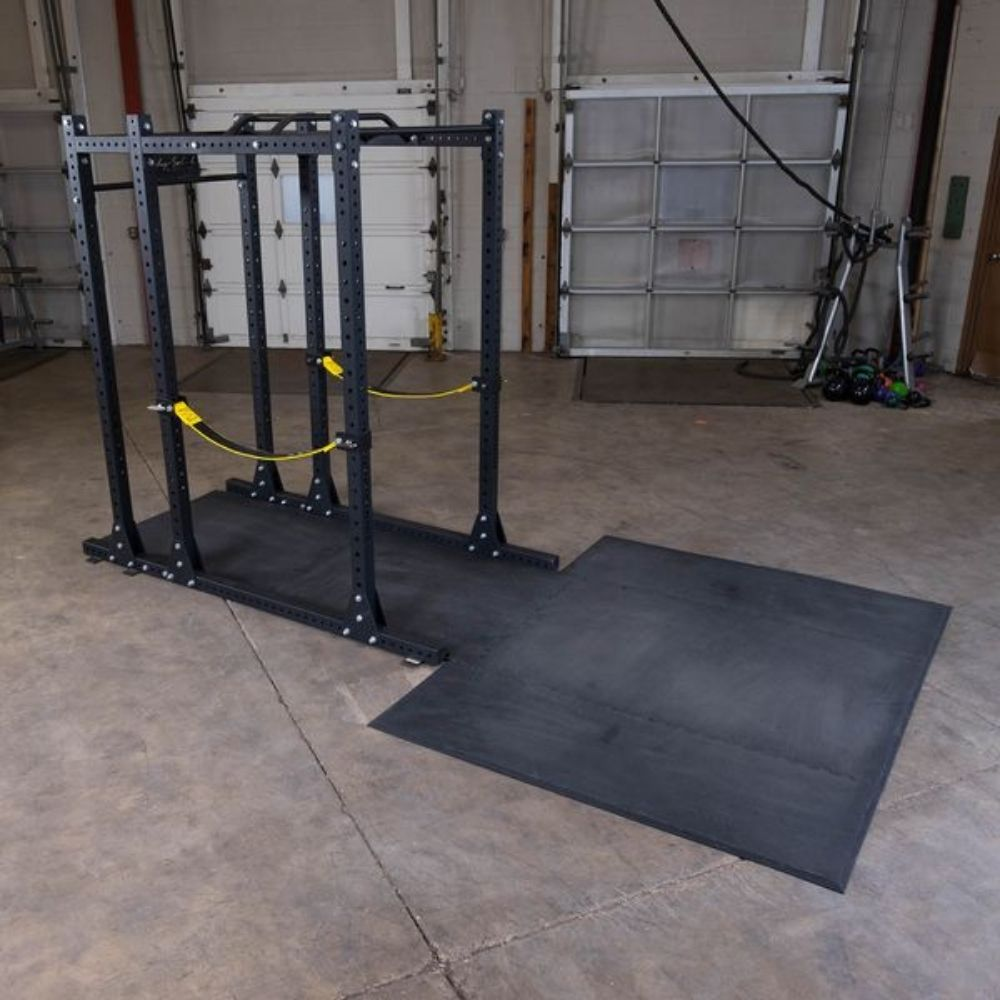Body-Solid SPRPLATFORM Power Rack Floor Mat 3D View