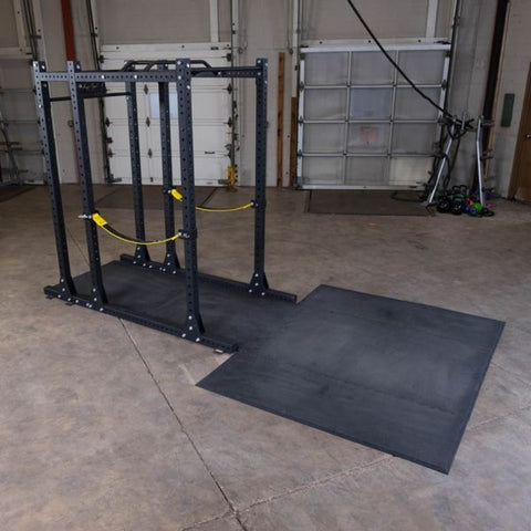 Image of Body-Solid SPRPLATFORM Power Rack Floor Mat 3D View