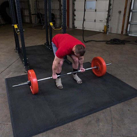 Image of Body-Solid SPRPLATFORM Power Rack Floor Mat Exercise Figure 2