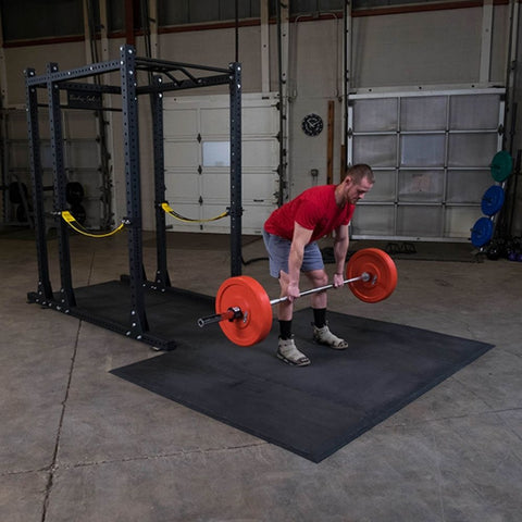 Image of Body-Solid SPRPLATFORM Power Rack Floor Mat Exercise Figure 3