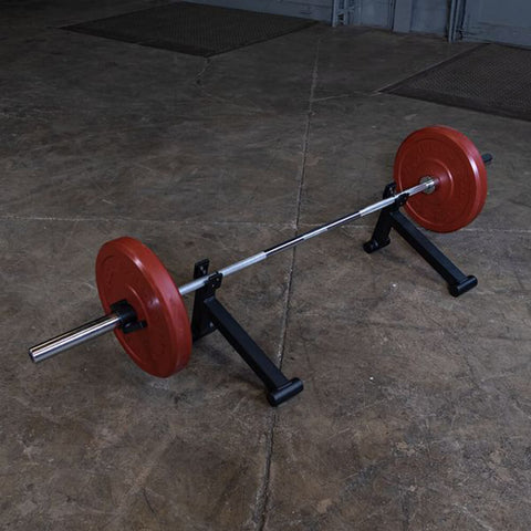 Image of Body-Solid Tools BSTOBJ Olympic Bar Jacks Top View