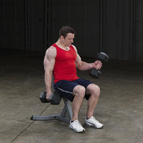 Image of Body-Solid Utility Stool GST20 Bicep Curl