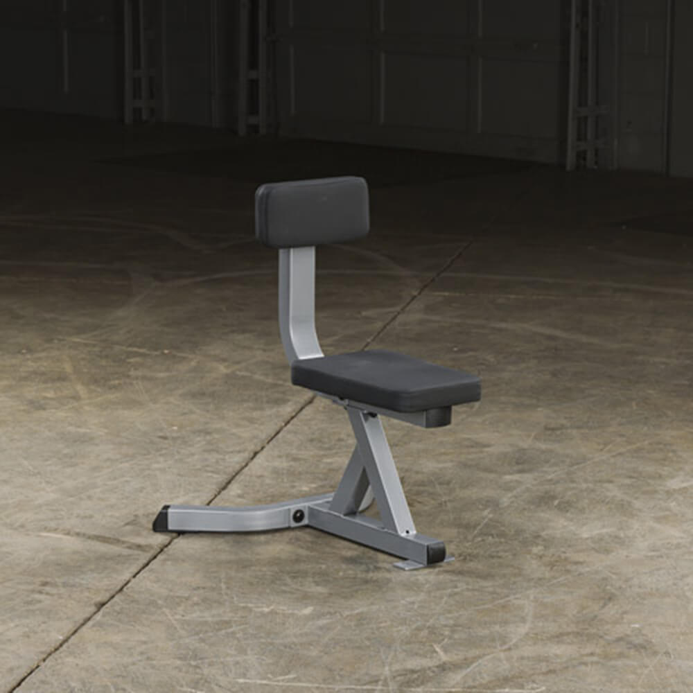 Body-Solid Utility Stool GST20 Top Front Side View