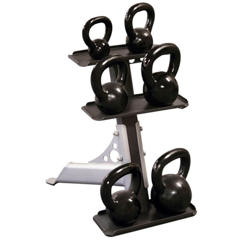 Image of Body-Solid GDKR50 Compact Kettlebell Rack Front View