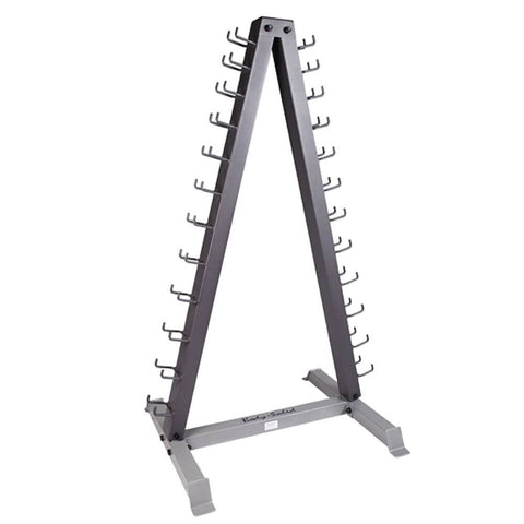 Body-Solid GDR24 12 Pair Vertical Dumbbell Rack 3D View