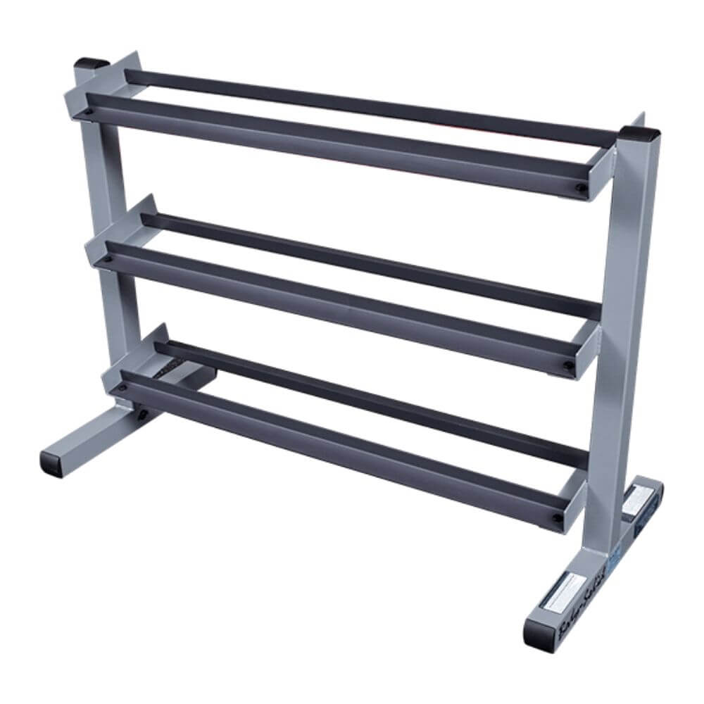 Body-Solid GDR363 3 Tier Dumbbell Rack Empty