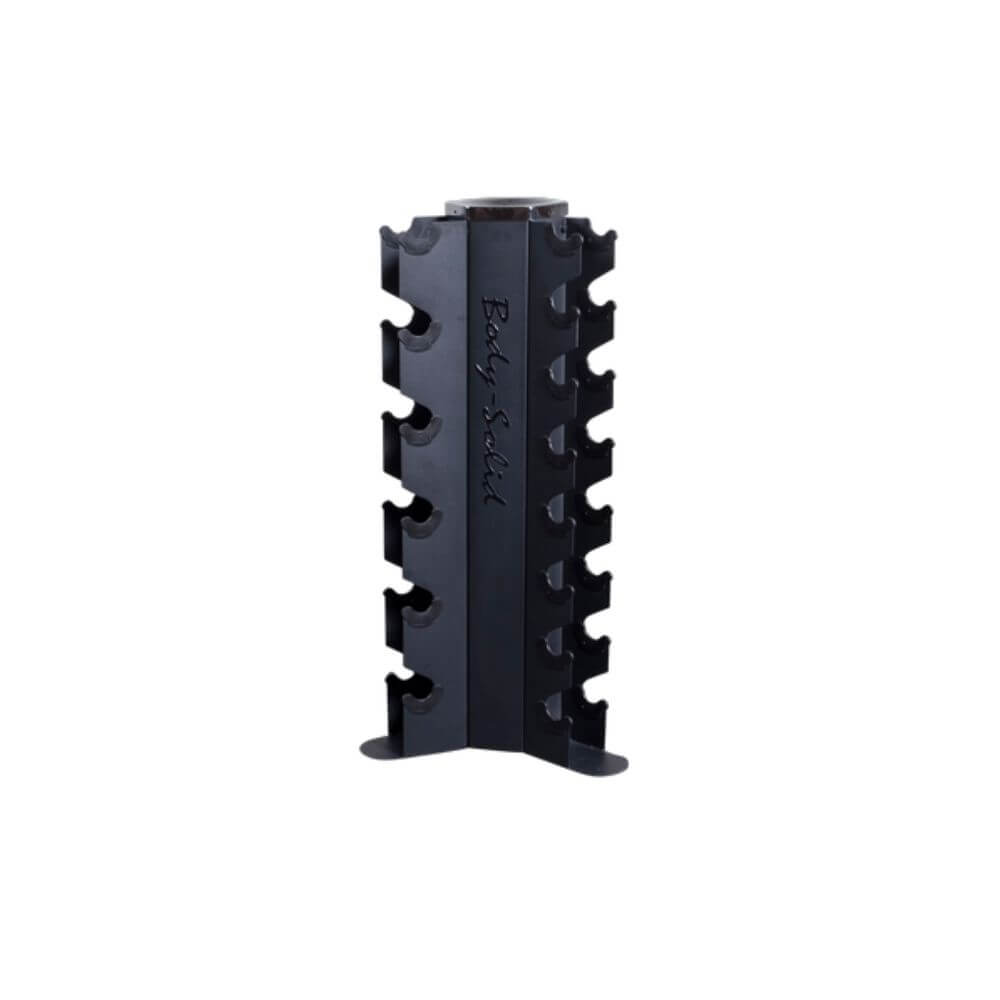 Body-Solid GDR80 Vertical Dumbbell Rack 3D View