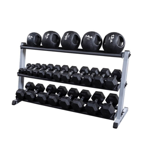 Image of Body-Solid GMRT6 Optional Medicine Ball Shelf for GDR60 Slam Balls