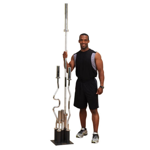 Body-Solid GOBH5 Olympic Bar Holder 3D View With Model