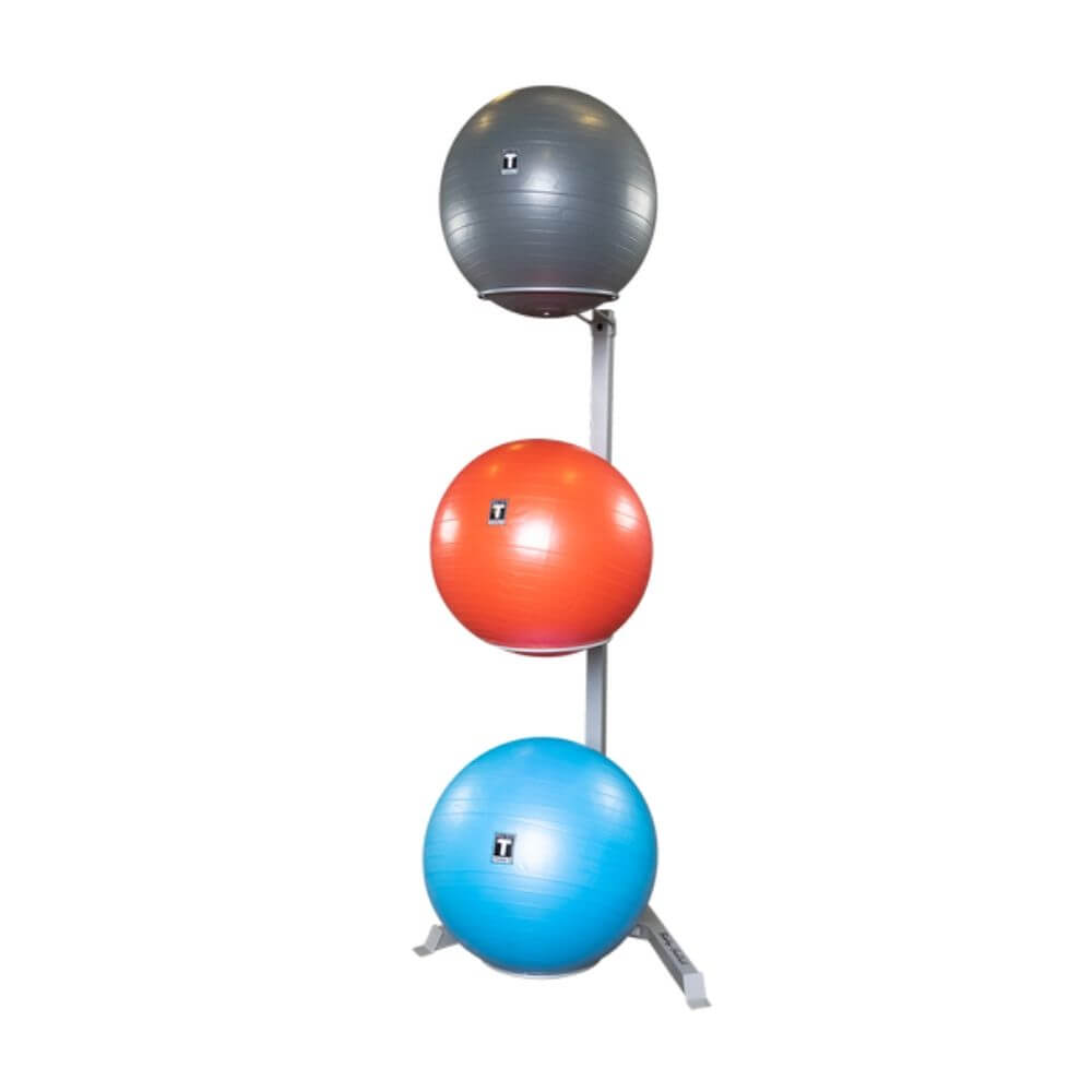 Body-Solid GSR10 Stability Ball Rack 3 Tier Same Sizes