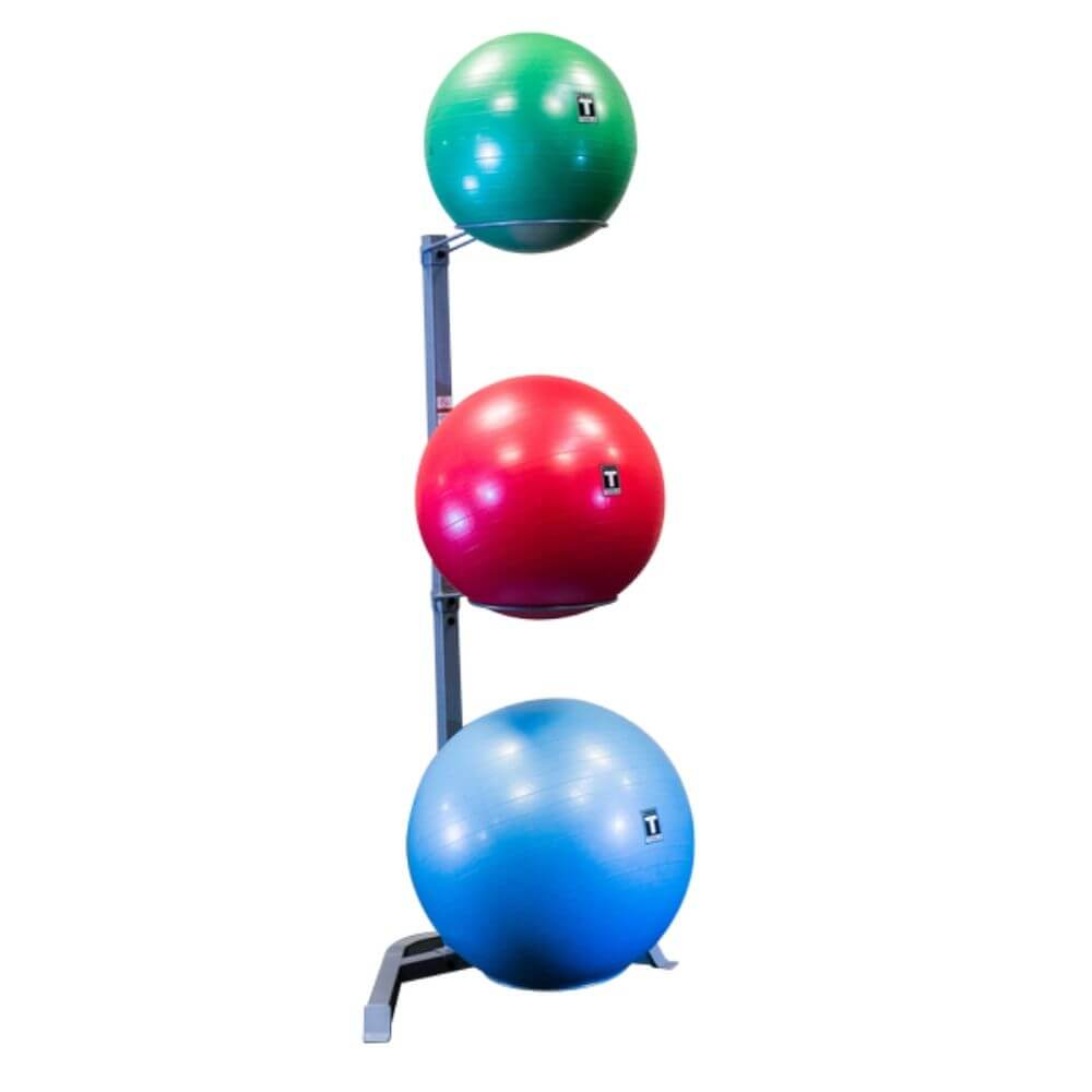 Body-Solid GSR10 Stability Ball Rack Close Up