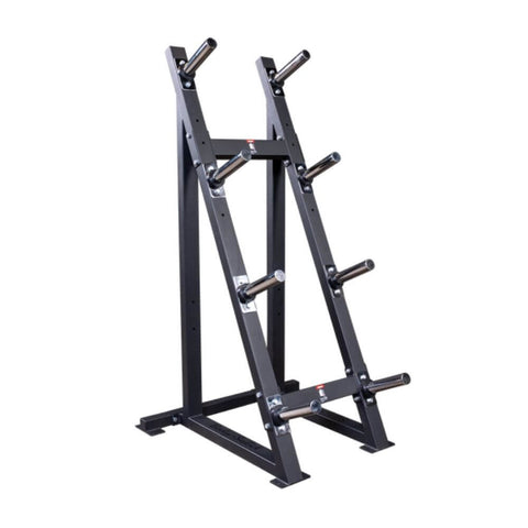 Image of Body-Solid GWT76 Capacity Olympic Weight Tree 4 Tier 3D View