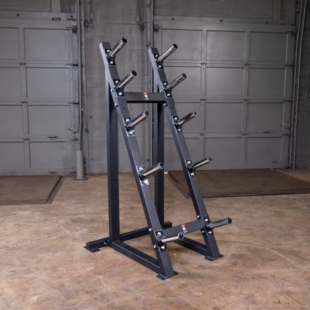 Body-Solid GWT76 Capacity Olympic Weight Tree 5 Tier Without Plates