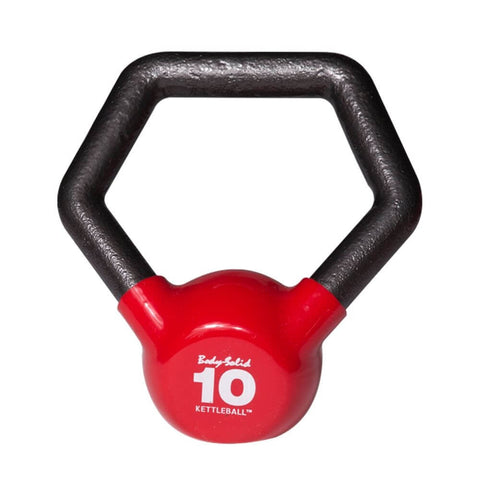 Image of Body-Solid KBL Vinyl Dipped Kettlebells 10LBS