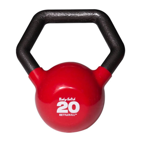 Image of Body-Solid KBL Vinyl Dipped Kettlebells 20LBS