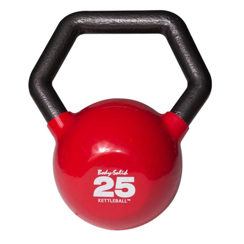 Image of Body-Solid KBL Vinyl Dipped Kettlebells 25LBS