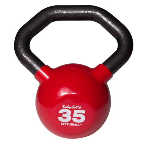 Image of Body-Solid KBL Vinyl Dipped Kettlebells 35LBS