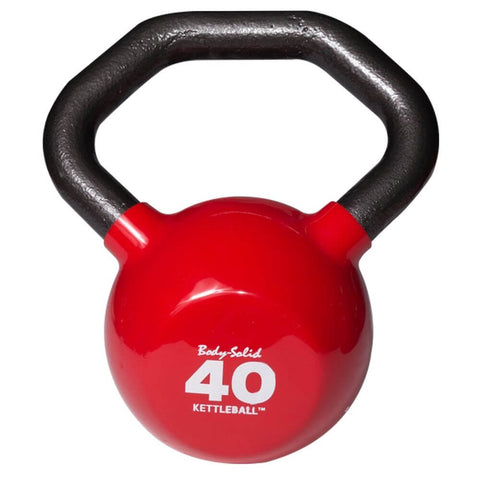 Image of Body-Solid KBL Vinyl Dipped Kettlebells 40LBS