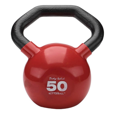 Image of Body-Solid KBL Vinyl Dipped Kettlebells 50LBS