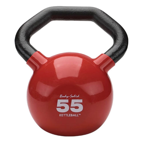 Image of Body-Solid KBL Vinyl Dipped Kettlebells 55LBS