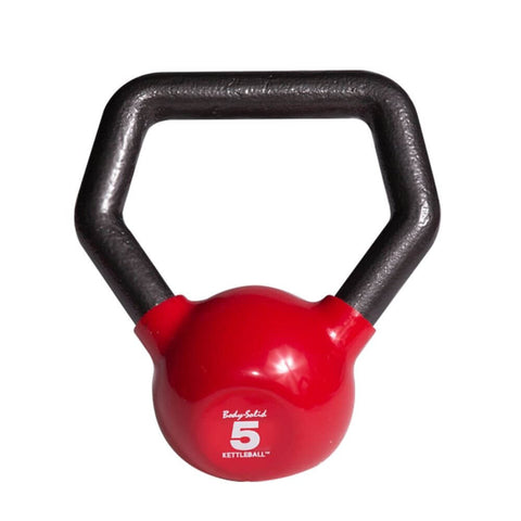 Image of Body-Solid KBL Vinyl Dipped Kettlebells 5LBS