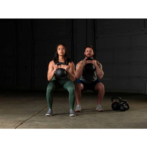 Body-Solid KBX Premium Training Kettlebells Carrying Squat