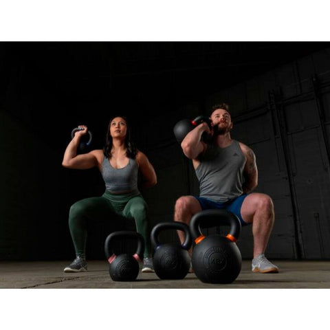 Body-Solid KBX Premium Training Kettlebells Front View Squat
