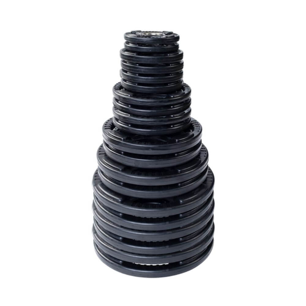 Body-Solid ORST Rubber Grip Plate Set 455 lbs