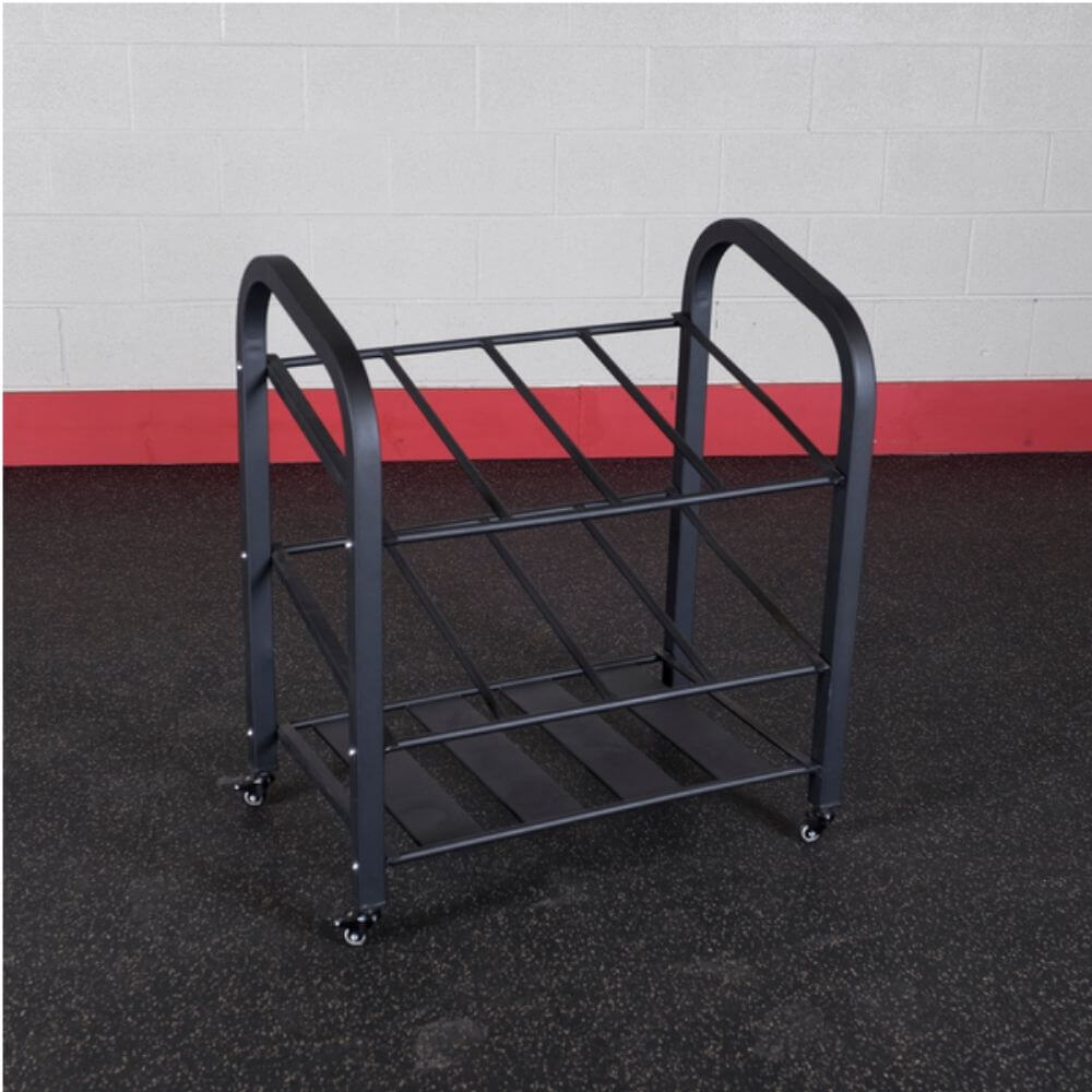 Body-Solid ProClub GYR500 Rolling Storage Cart 3D VIew