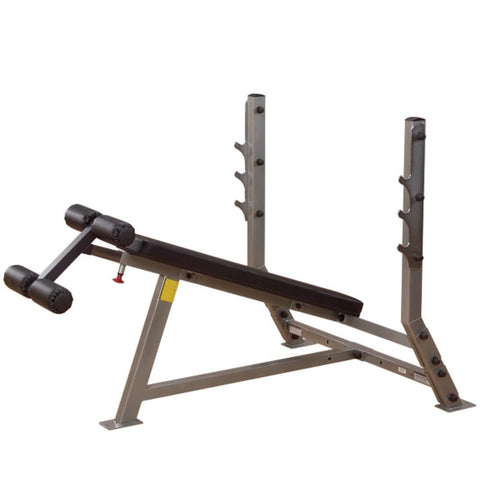 Image of Body-Solid ProClub SDB351G Decline Olympic Bench Side View