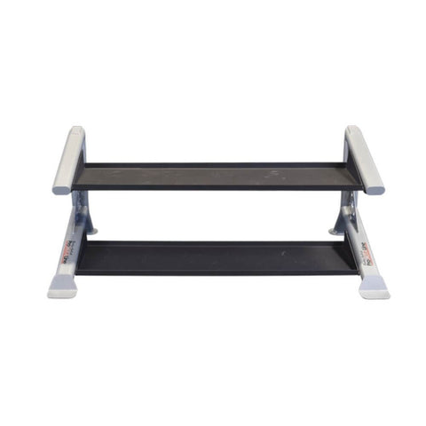 Image of Body-Solid ProClub SDKR500KB 2 Tier Kettlebell Rack Top Front View