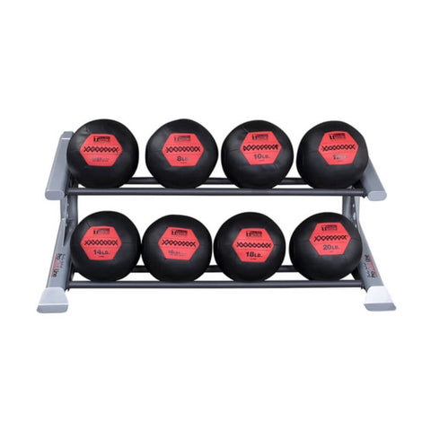 Image of Body-Solid ProClub SDKR500MB 2 Tier Medicine Ball Rack 3D View