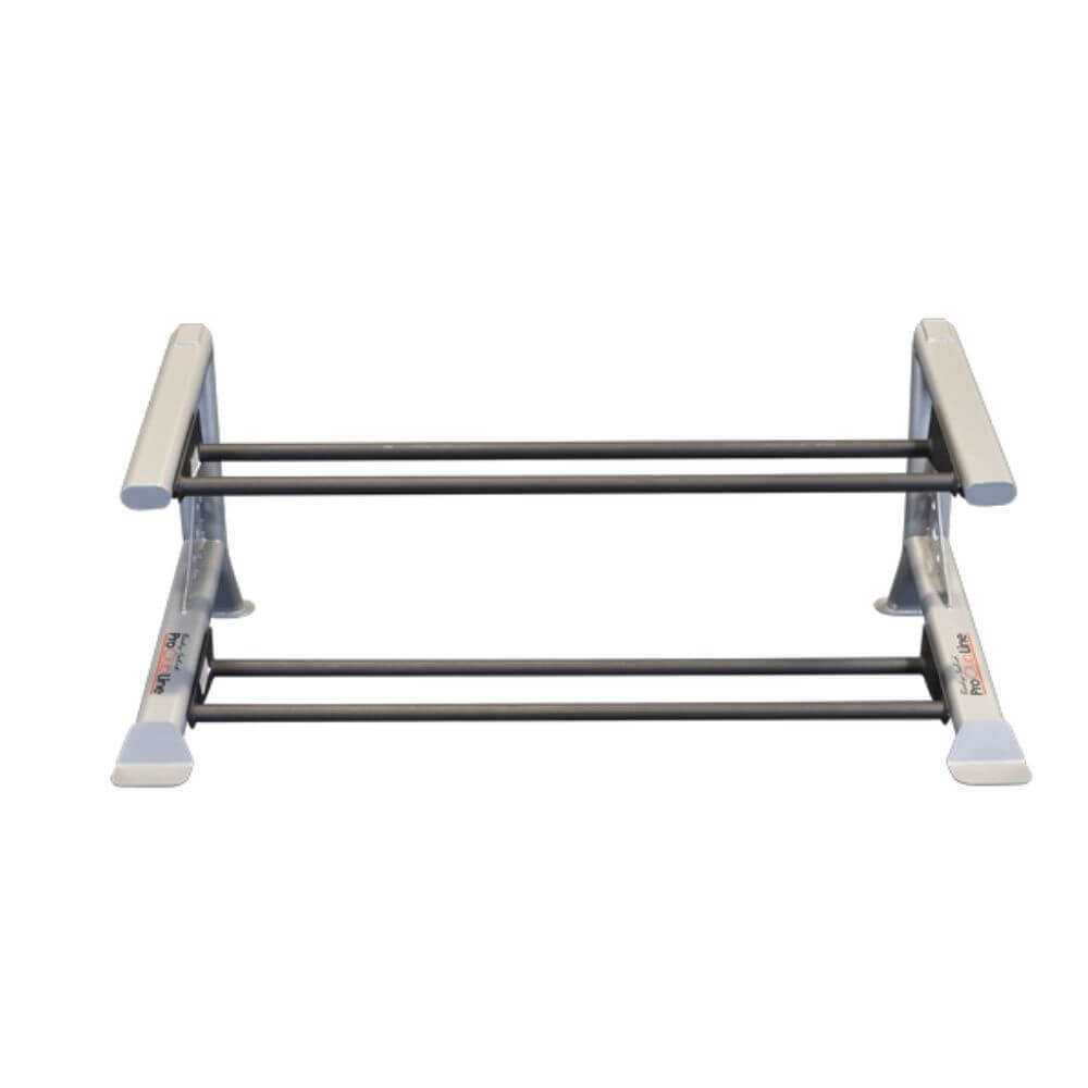 Body-Solid ProClub SDKR500MB 2 Tier Medicine Ball Rack Top Front View