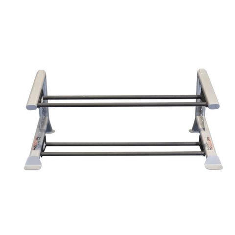 Image of Body-Solid ProClub SDKR500MB 2 Tier Medicine Ball Rack Top Front View