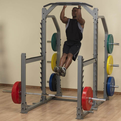 Body-Solid ProClub SMR1000 Multi Squat Rack Chin Up