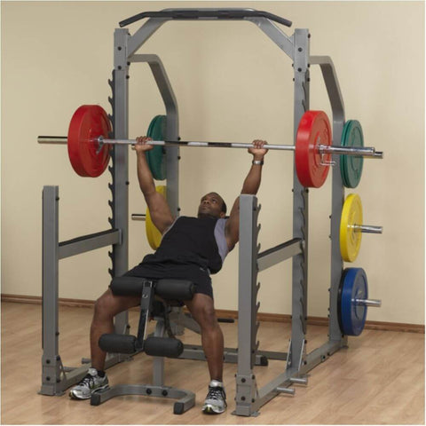 Image of Body-Solid ProClub SMR1000 Multi Squat Rack Lifting Inclined