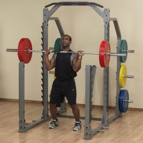 Image of Body-Solid ProClub SMR1000 Multi Squat Rack Lifting