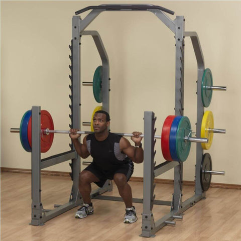 Image of Body-Solid ProClub SMR1000 Multi Squat Rack Lunge