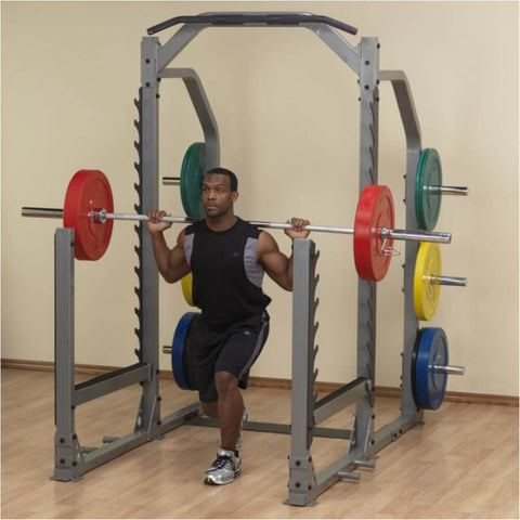 Image of Body-Solid ProClub SMR1000 Multi Squat Rack Lunges One Leg