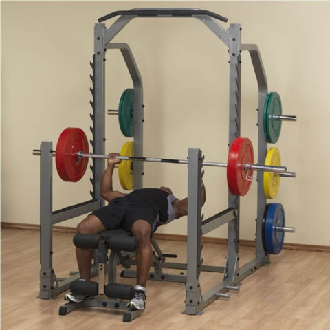 Body-Solid ProClub SMR1000 Multi Squat Rack Lying