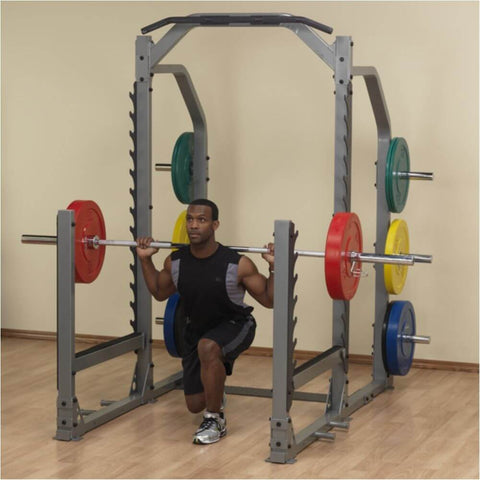 Image of Body-Solid ProClub SMR1000 Multi Squat Rack One Knee Lunges