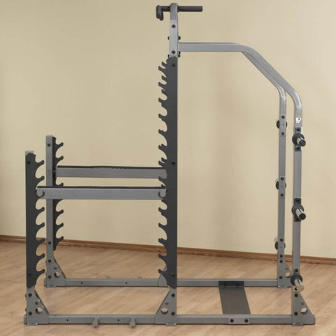 Body-Solid ProClub SMR1000 Multi Squat Rack Side View