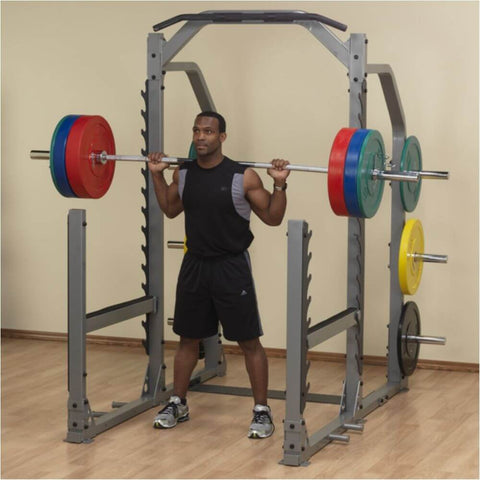 Image of Body-Solid ProClub SMR1000 Multi Squat Rack Standing