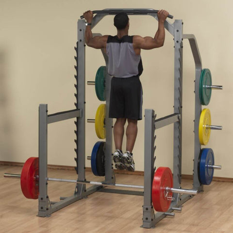 Body-Solid ProClub SMR1000 Multi Squat Rack Wide Arm Chin Up
