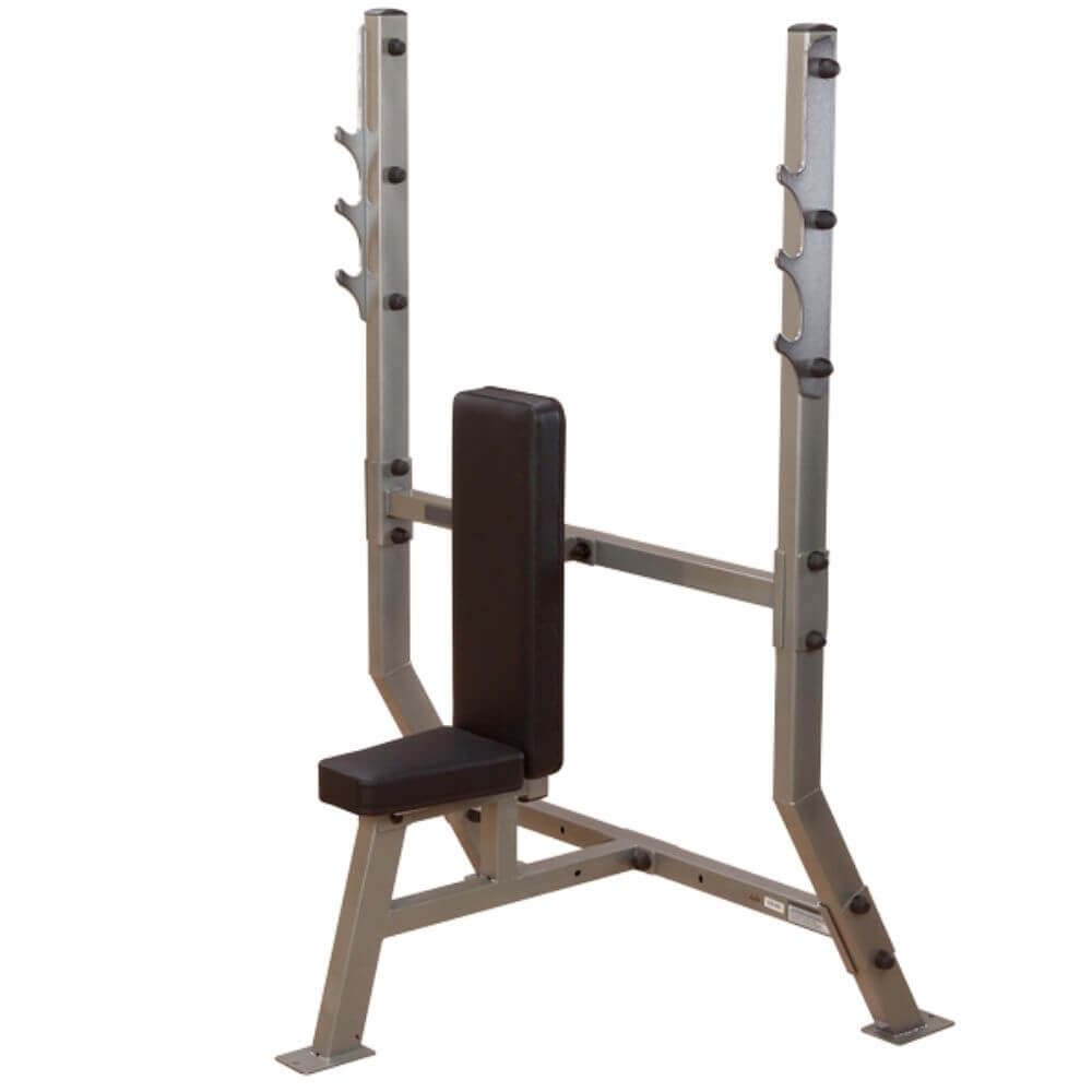 Body-Solid ProClub SPB368G Olympic Shoulder Press Bench 3D View