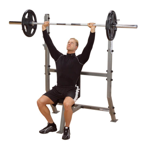 Body-Solid ProClub SPB368G Olympic Shoulder Press Bench Lift