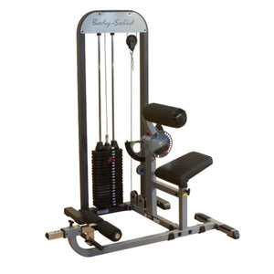 Body-Solid Pro Select GCAB-STK Ab And Back Selectorized 3D View